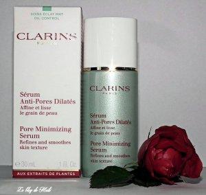 Clarins pores BLOG