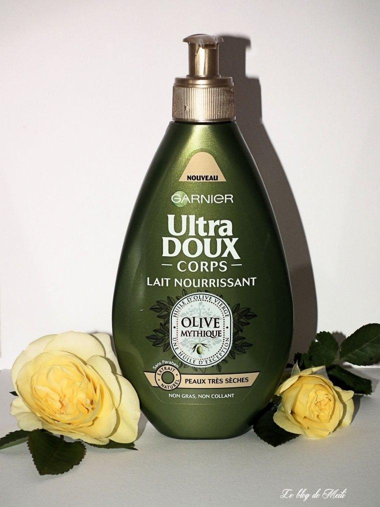 corps Garnier ultra doux olive